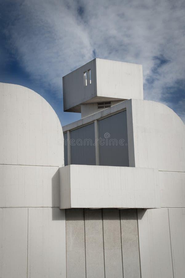 Joan Miro podstawy muzeum fotografia stock