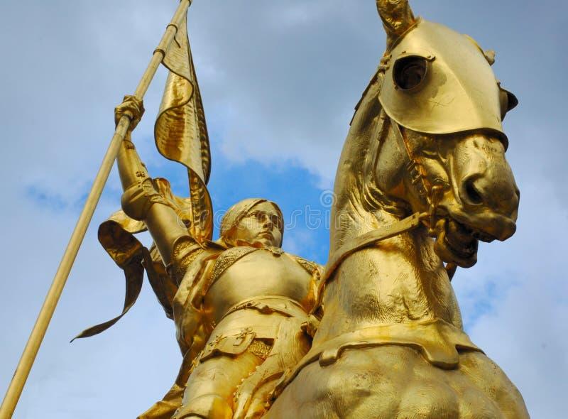 Joanna d ' arc obraz royalty free