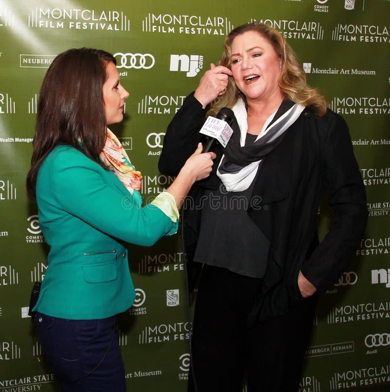 Joanna Gagis en Kathleen Turner royalty-vrije stock foto