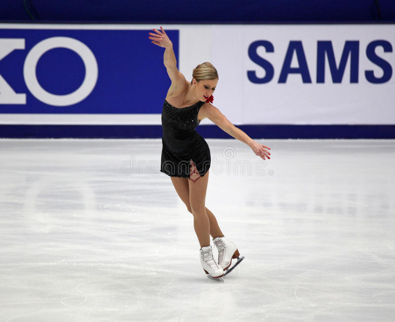 Joannie Rochette (CAN) stock photo