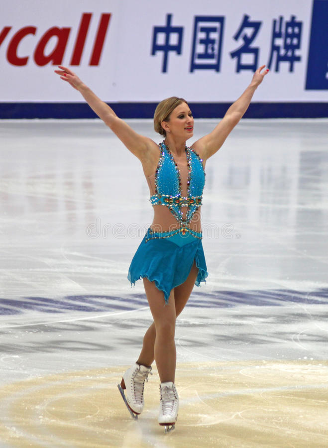 Joannie Rochette (CAN) stock images