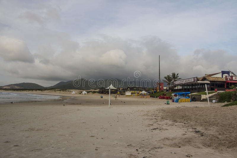 Joaquina Beach - Florianópolis/SC - le Brésil photos libres de droits
