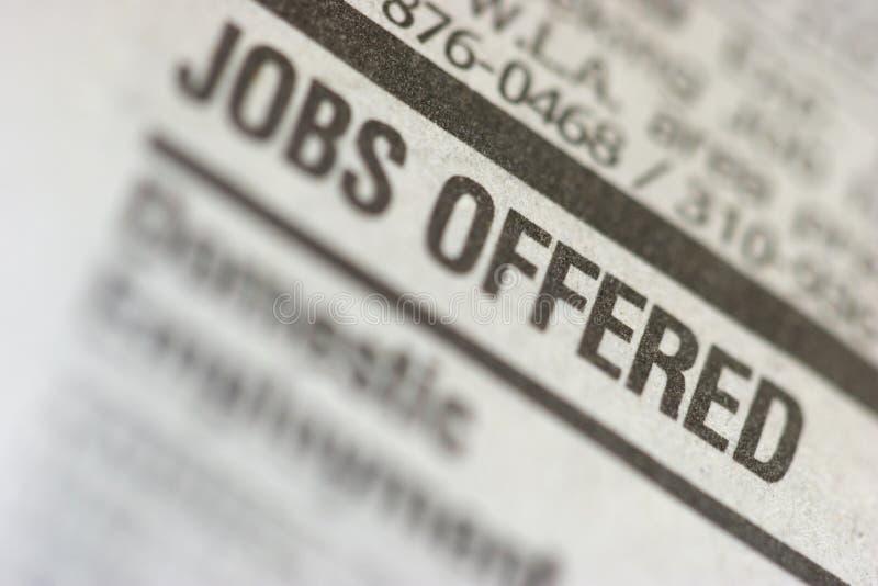 Job royalty free stock photos