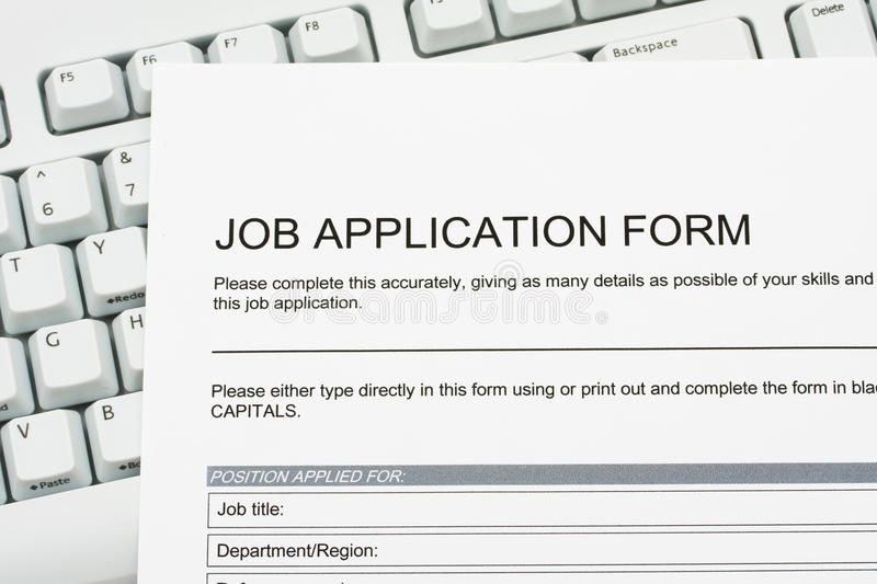 Download Job Application Stock Photo - Image: 13009660