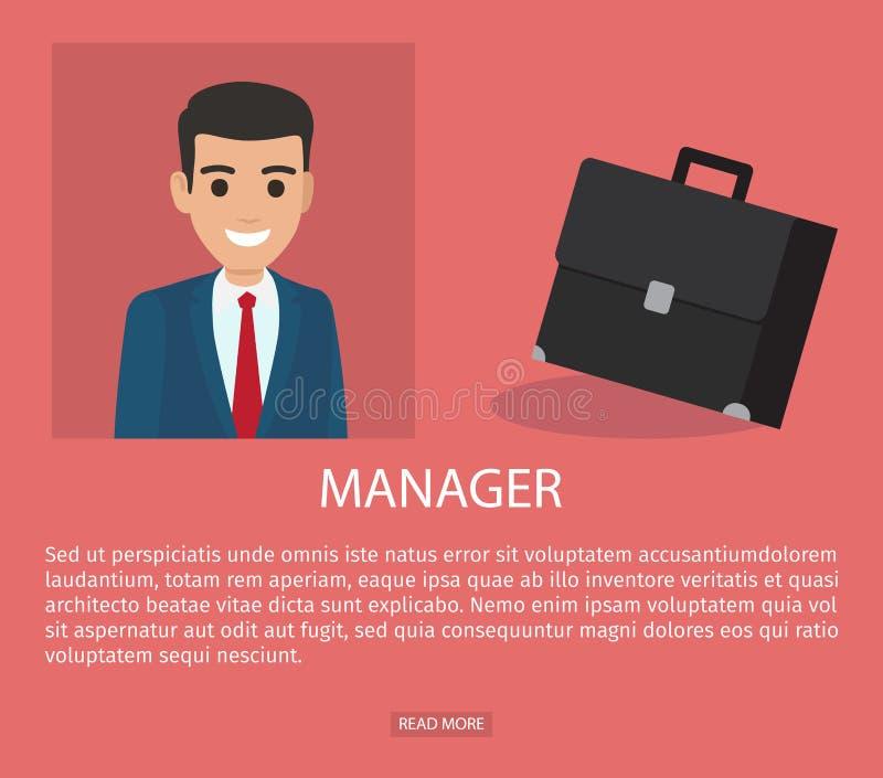 Job Application Form del hombre de negocios Breve curriculum vitae libre illustration