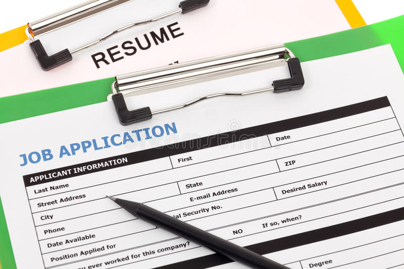 resumes for job application