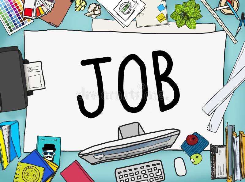 Job Career Occupation Working Concept ilustração do vetor