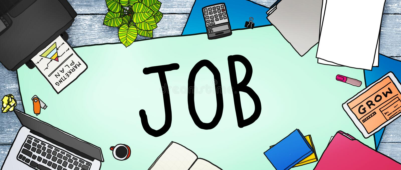 Job Career Occupation Working Concept royalty-vrije illustratie