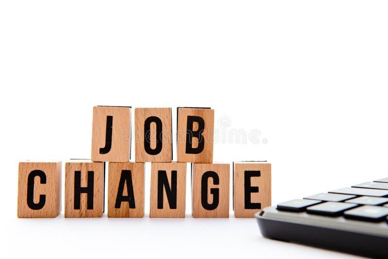 Job Change immagine stock libera da diritti