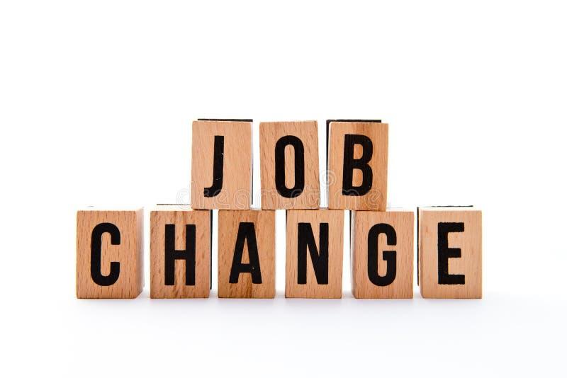 Job Change fotografie stock libere da diritti
