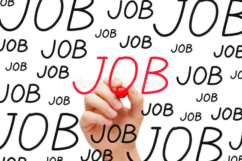 Job Concept Fotografia Stock