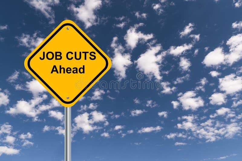 Job cuts ahead stock images