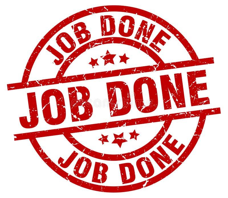 Job done stamp. Job done grunge vintage stamp isolated on white background. job done. sign vector illustration