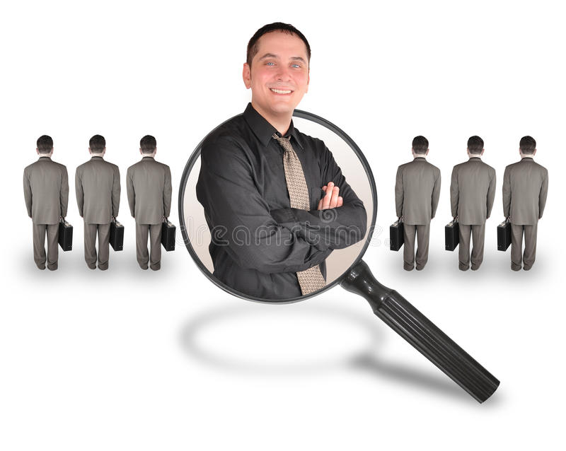 Download Job Employee Man Candidate Search Royalty Free Stock Photos - Image: 15730208