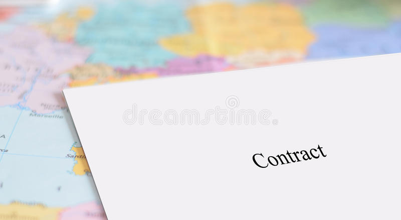 Job in Europe royalty free stock photo
