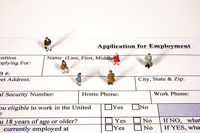Job Fair stock image