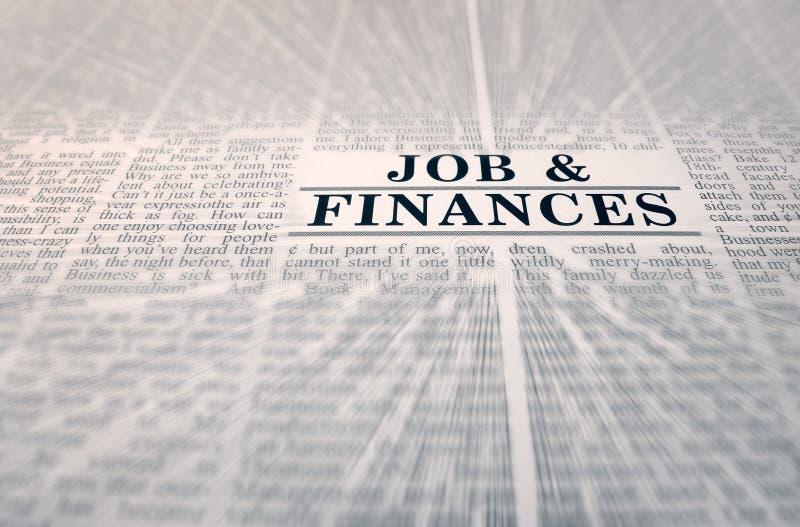 Job & finances royalty free stock photos
