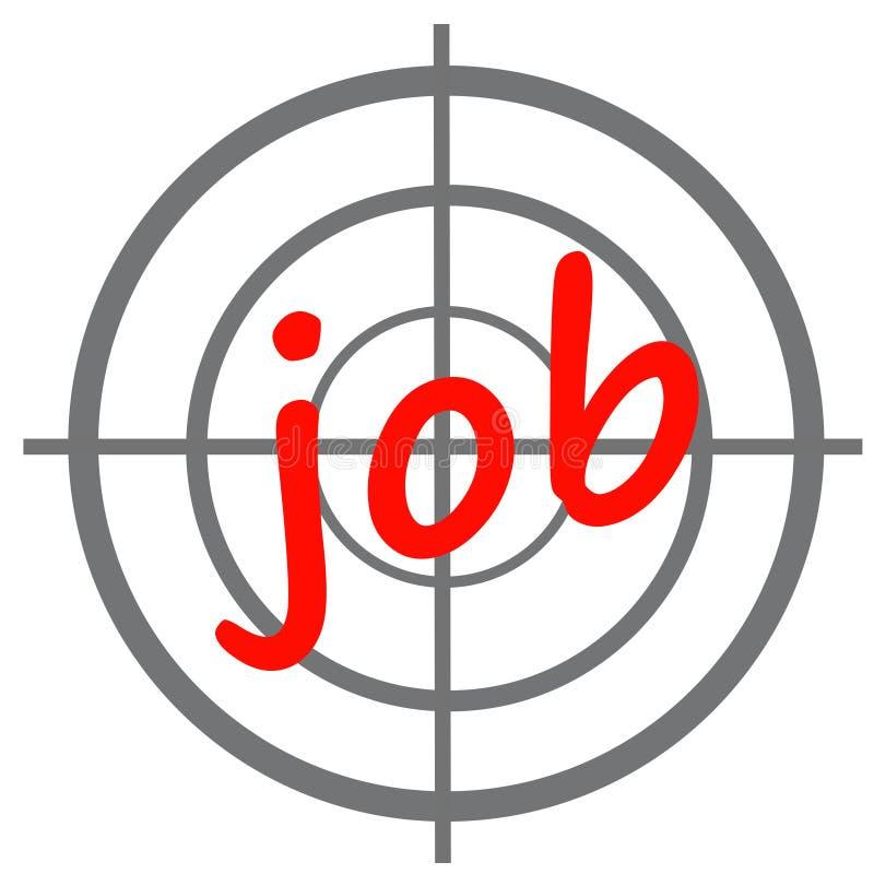 Job hunt stock illustration