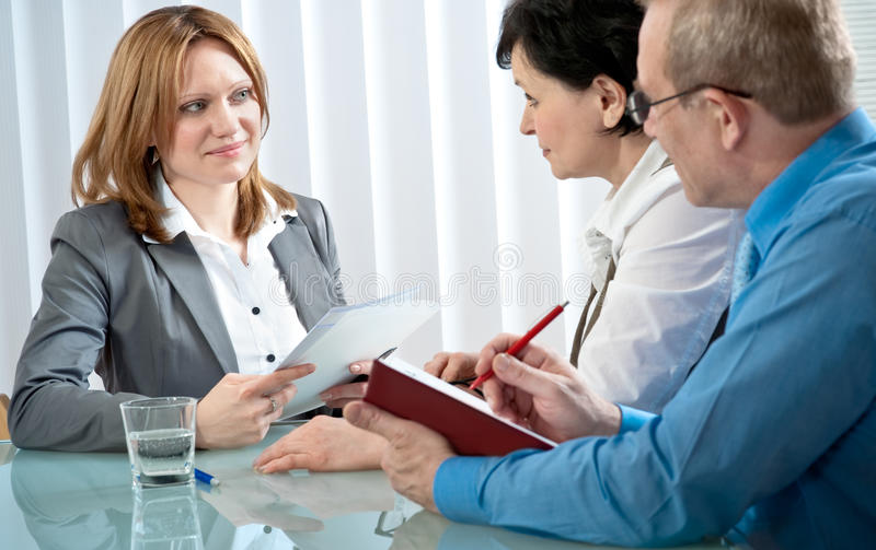 Download Job interview stock image. Image of employee, employer - 14036467