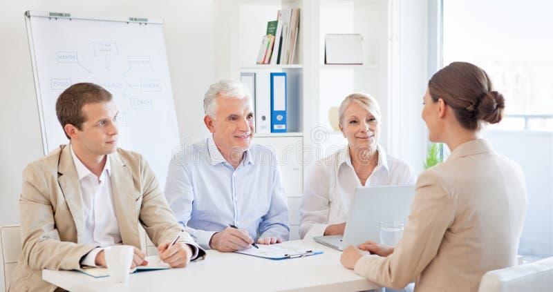 Job Interview lizenzfreie stockfotos