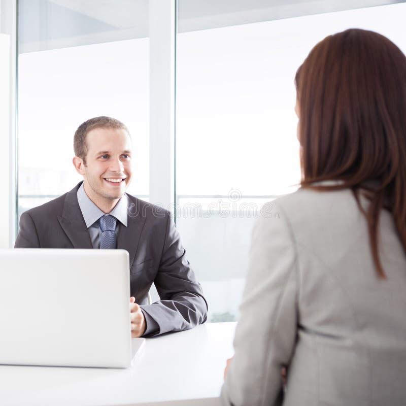 Job Interview imagenes de archivo