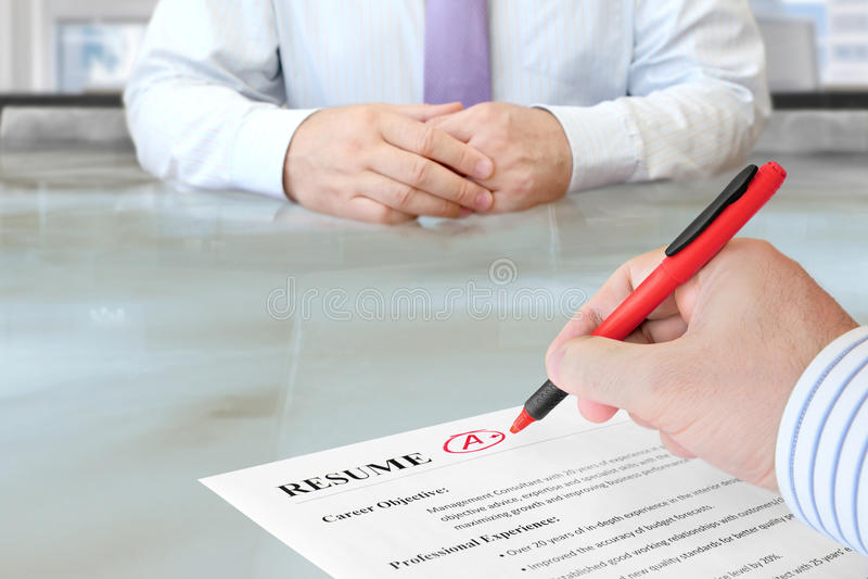Job Interview lizenzfreies stockfoto