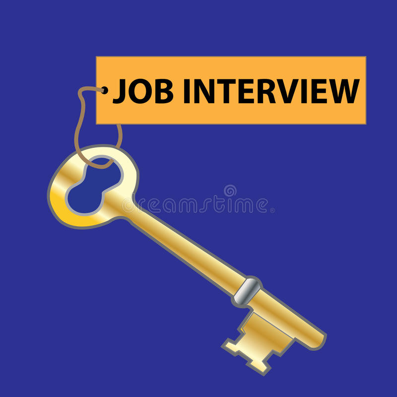 Job Interview illustration stock