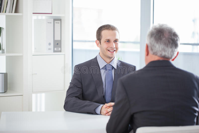 Job Interview lizenzfreies stockbild
