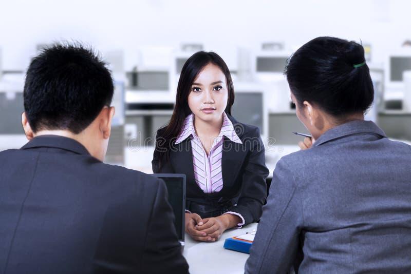 Job Interview fotografia de stock
