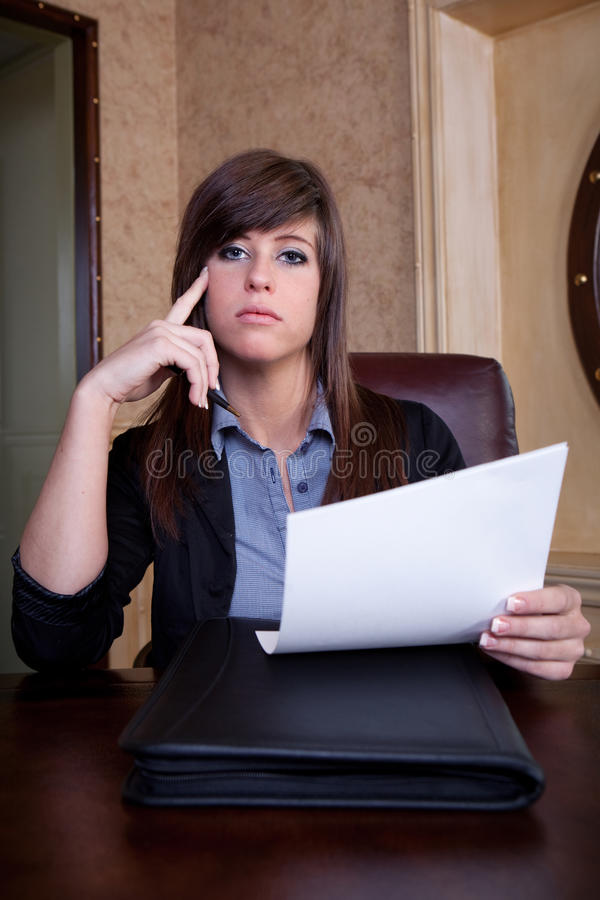 Download Job interview scrutiny stock photo. Image of conditions - 23065078