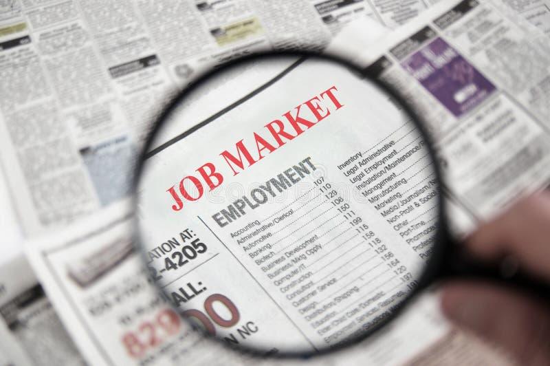 Job Market photographie stock libre de droits