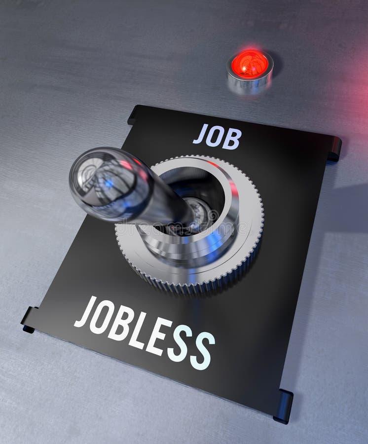 Job o senza lavoro royalty illustrazione gratis