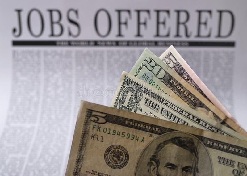 Job offers stock photos