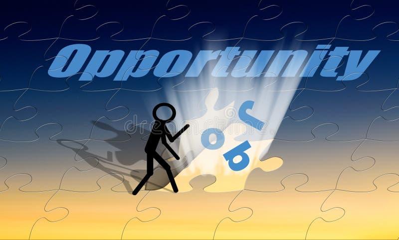 Download Job Opportunity stock illustration. Illustration of newspaper - 4522200