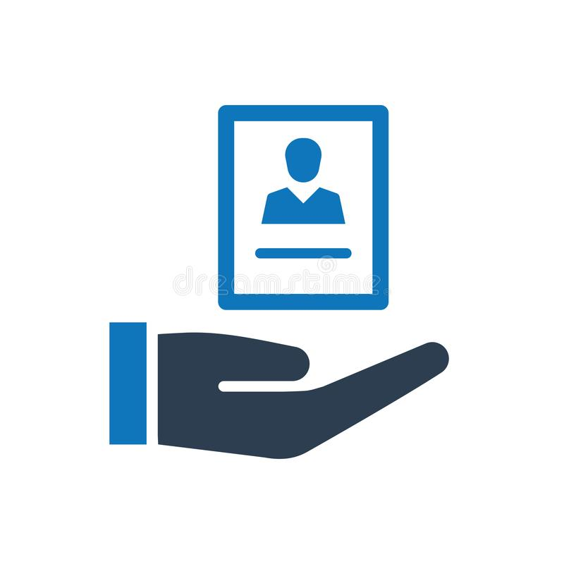 Job Opportunity Icon. Simple Illustration Of A Job Opportunity Icon royalty free illustration
