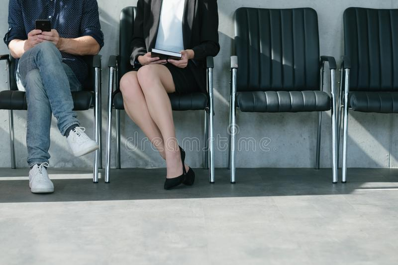 Job opportunity interview business appointment stock photo