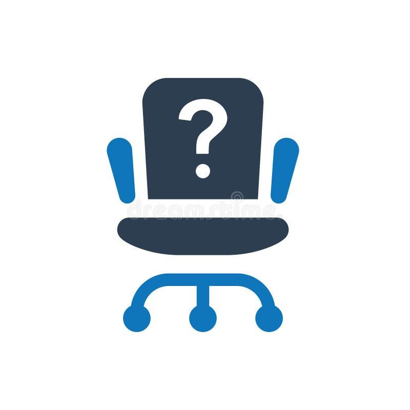 Job Position Icon stock illustratie