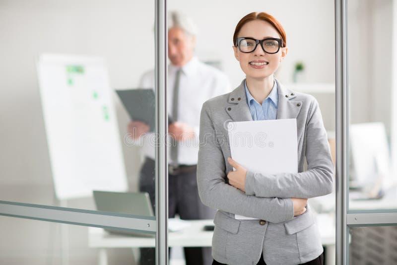 Job Promotion lizenzfreies stockbild