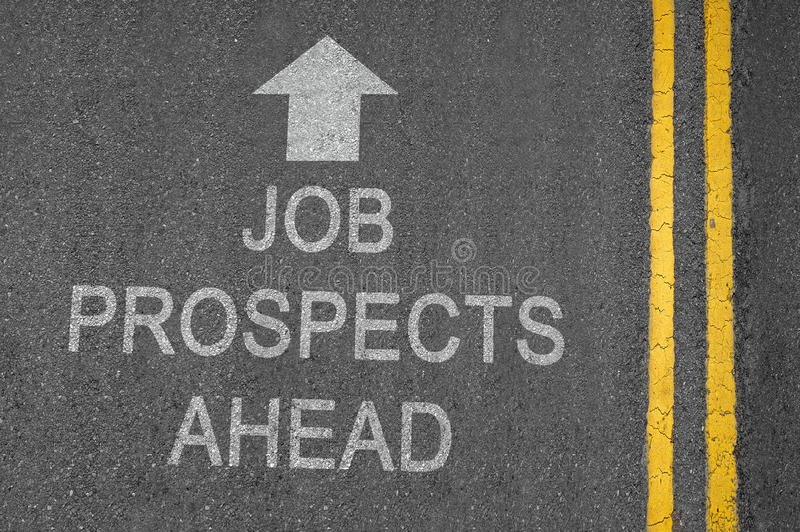 Job Prospects royalty free stock images