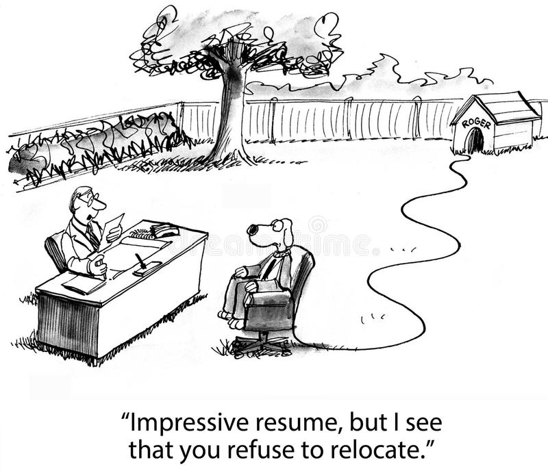 Download Job Relocation stock de ilustración. Ilustración de humor - 42440648