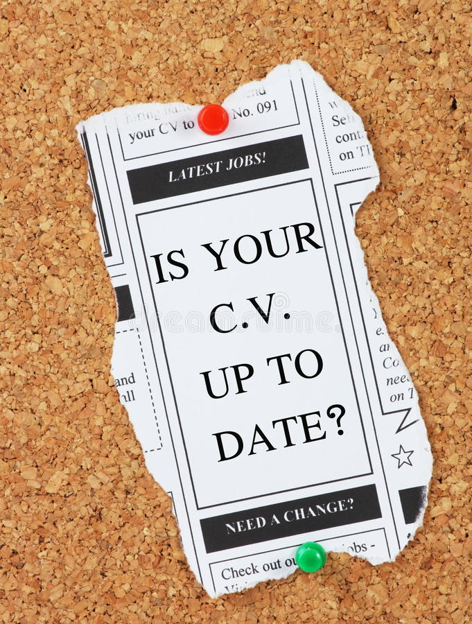 Job Search Tips lizenzfreie stockbilder