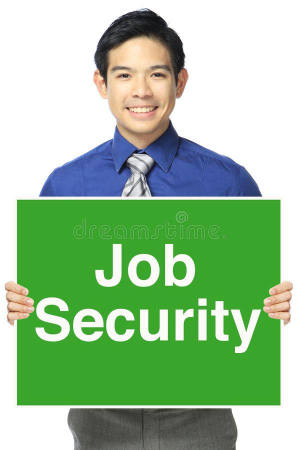 Job Security royalty-vrije stock afbeeldingen