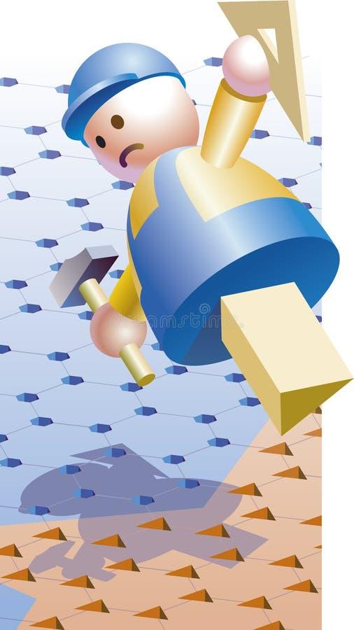 Download Job seeker stock vector. Image of seek, figurine, field - 3406406