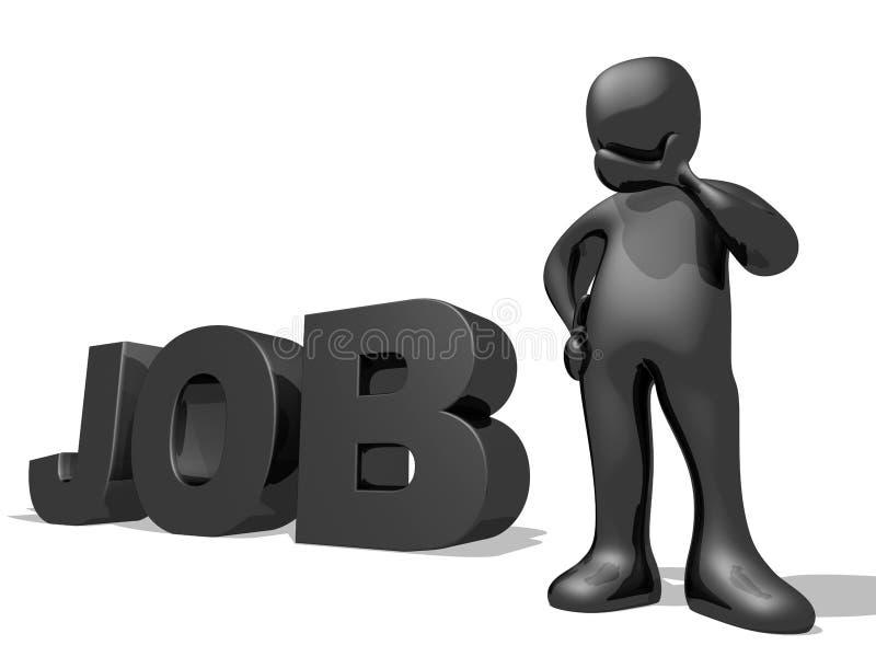 Job Seeking vector illustration