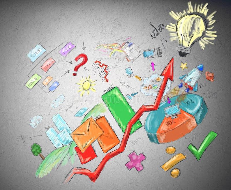 Job success vector illustration
