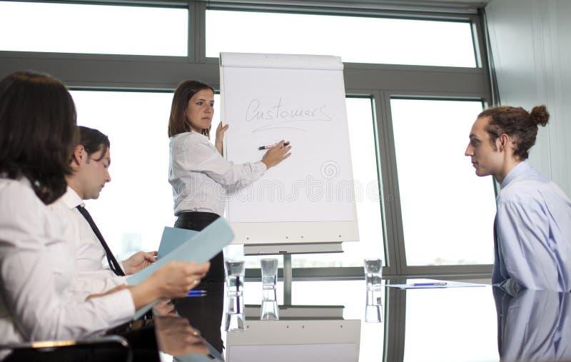Job training strategy stock photography