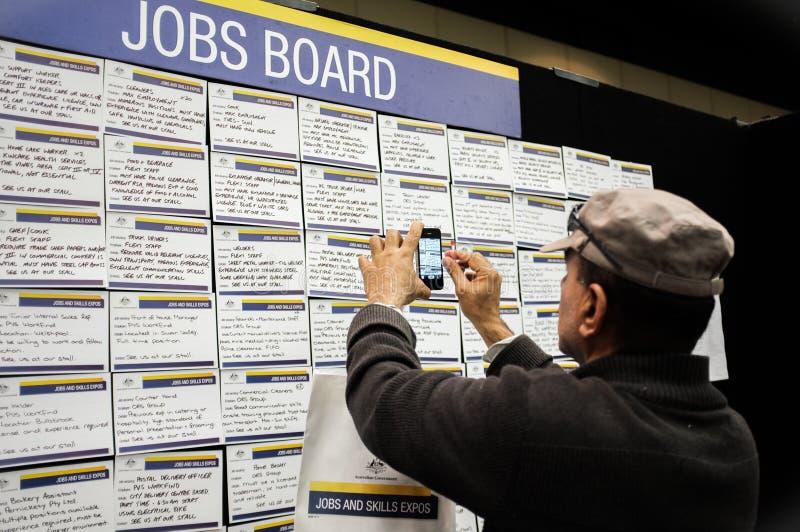 Job-u. Fähigkeits-Ausstellungen lizenzfreies stockfoto