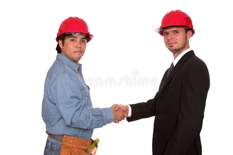 Job well done stock photography