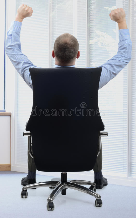Job well done stock photo