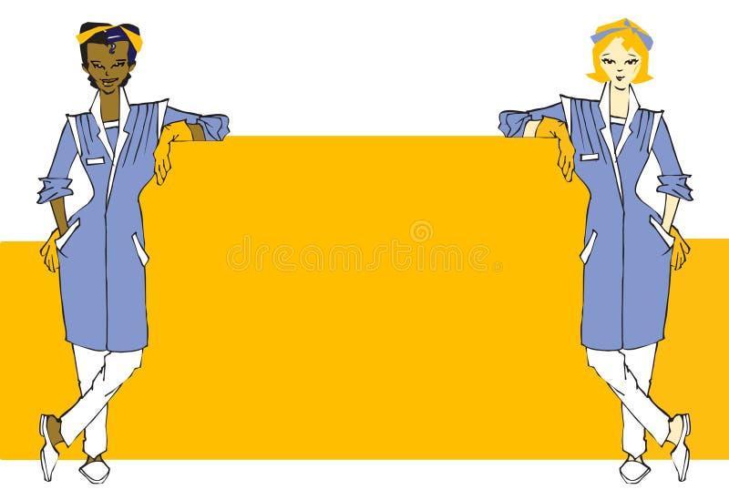 jobbseriearbetare vektor illustrationer